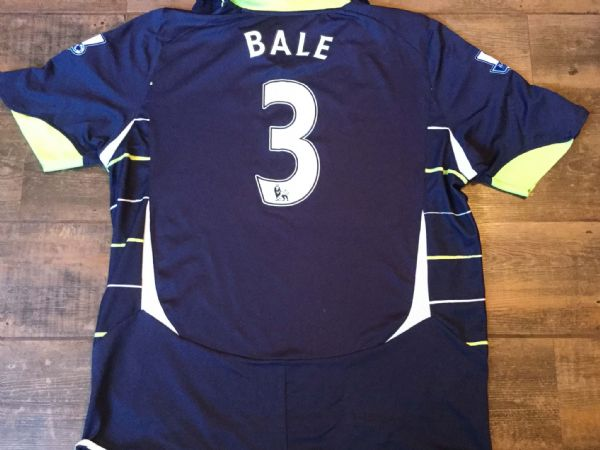 2010 2011 Tottenham Hotspur Bale Away Shirt Adults XL